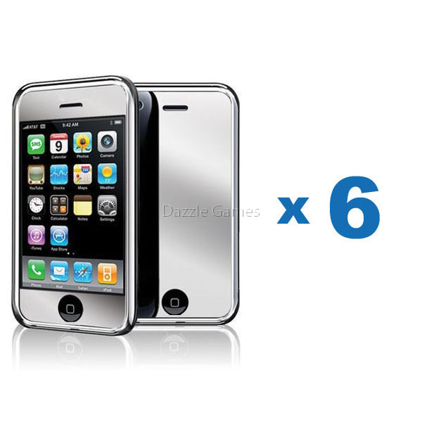 Protect your iPod Touch front LCD screen against dust and scratches and