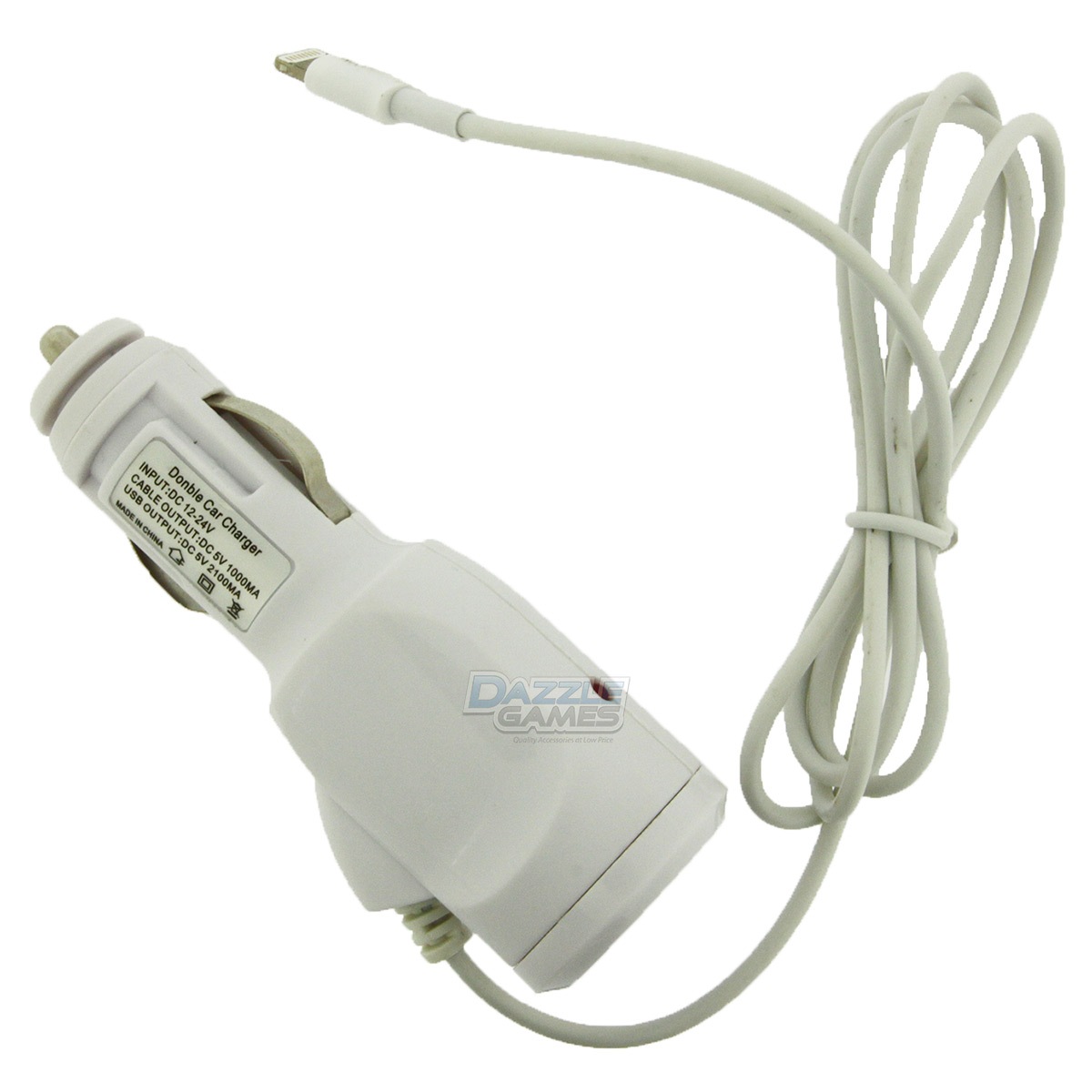 8 Pin Rapid Fast Travel Battery Car Charger Adapter For