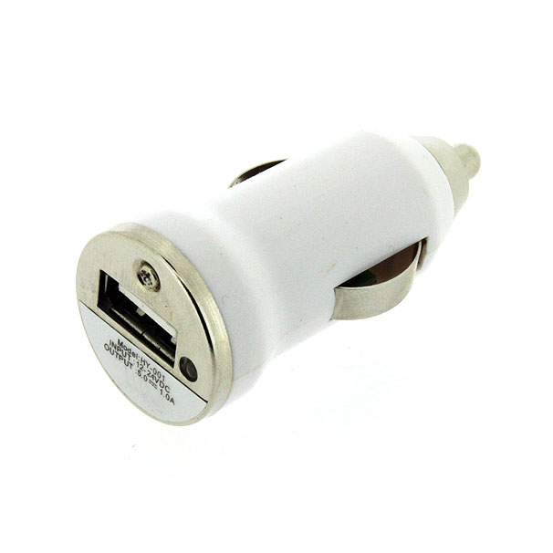 Auto Car Charger Adapter+8 Pin To USB Cable For IPhone 5