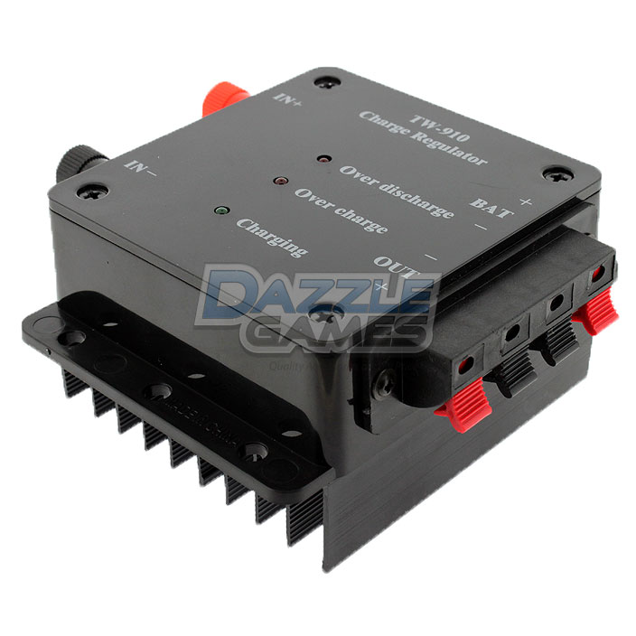 Details about Solar Panel Battery Charger Regulator Controller 12V 5A