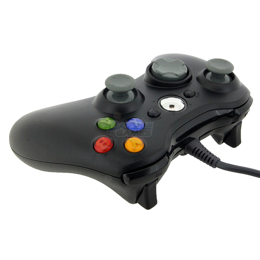 Black USB Wired Gamepad Controller Joypad Joystick For ... Xbox 360 Controller Wired