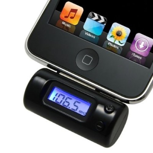 fm transmitter app iphone fm transmitter with car charger remote for iphone 4 3gs 3g 809