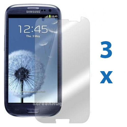3X Anti Glare Matte Screen Protector Cover for Samsung Galaxy S3 III i9300 T999